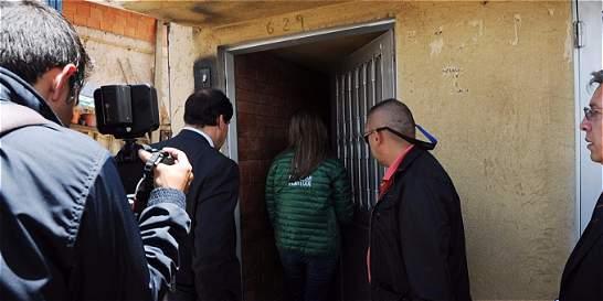 Directora del Icbf visitó a padres de la menor que falleció