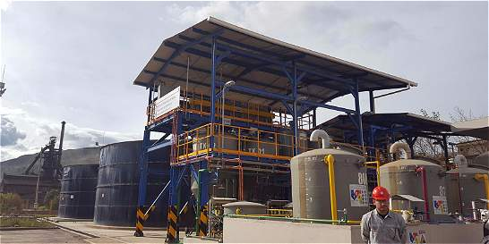 Acerías Paz del Río trata sus aguas residuales