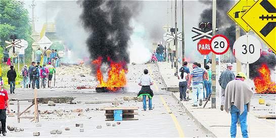 Camioneros detenidos durante paro camionero quedaron en libertad