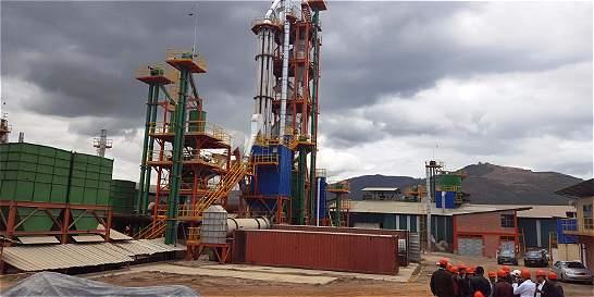 El boom del cemento en Sogamoso