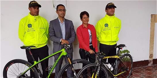 Recuperan dos bicicletas hurtadas a deportista