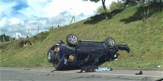 Alcalde de Susacón salió ileso de accidente