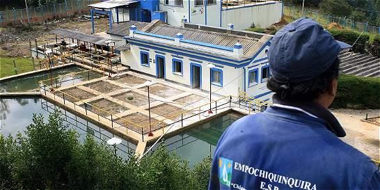 Invertirán en modernización de la planta de bombeo de Chiquinquirá