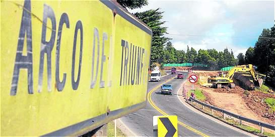 Carretera entre Tunja y Bogotá estará cerrada durante tres días