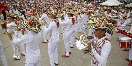 Cundinamarca, el ganador del nacional de bandas en Paipa (Boyacá)