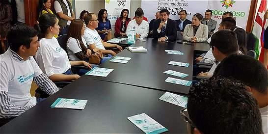 Destinan 500 millones de pesos para crear empresas en Sogamoso