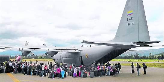Nada que 'despega' el aeropuerto de Sogamoso