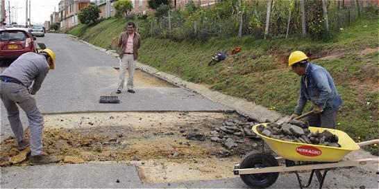Desde el lunes volverán a realizar obras en vías del norte de Tunja