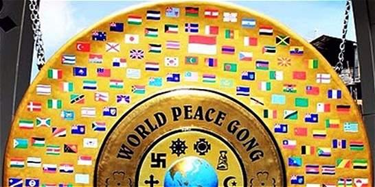 Mañana entregan el gong de la paz