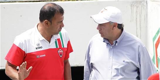 Rivera dejó de ser técnico del 'rojo'