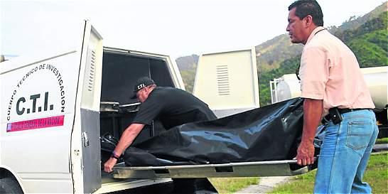 Confirman identidad de dos personas muertas en Santander