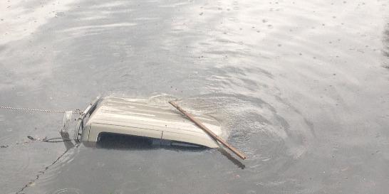 Inundaciones por  fuertes precipitaciones en Cali