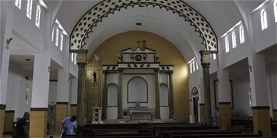 Parroquia San Juan Bosco se remodela en su interior
