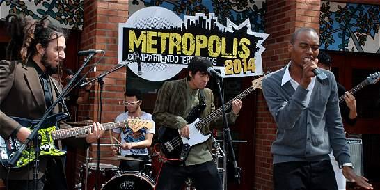 Una Metrópoli de salsa, rock y música urbana