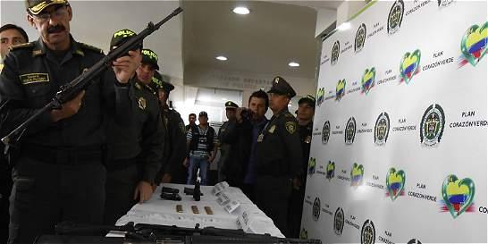 Caen presuntos autores del asesinato de dos policías en Popayán
