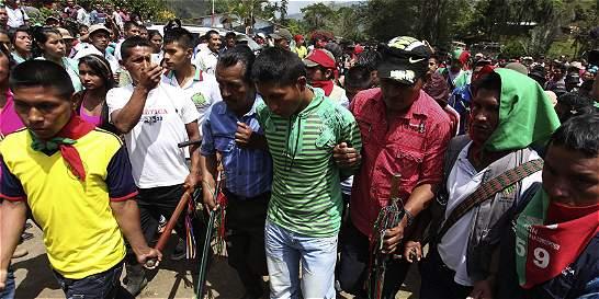 60 y 40 años de cárcel a guerrilleros por muerte de indígenas en Cauca