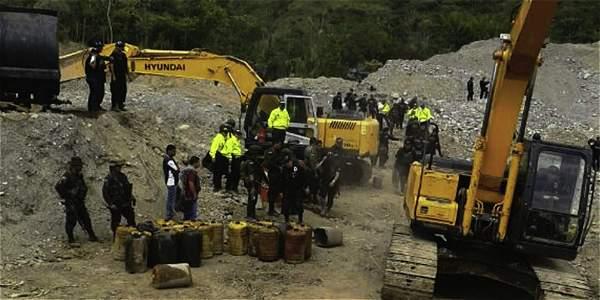 Rondan amenazas por oposición a minería ilegal en el Cauca
