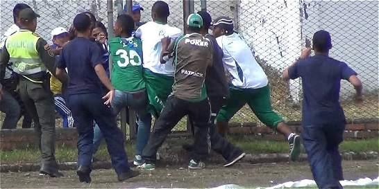 Desmanes en Popayán tras el partido del domingo Millonarios-Cali