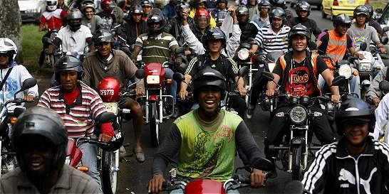 Motociclistas se oponen a que se evalúe el pico y placa en Cali