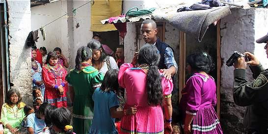 Trasteo, un nuevo capítulo de la comunidad embera, en Cali