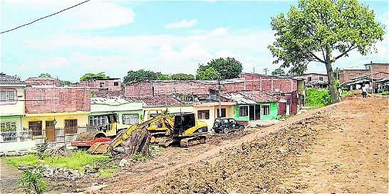 Inversión para reforzamiento de dique en el río Cauca
