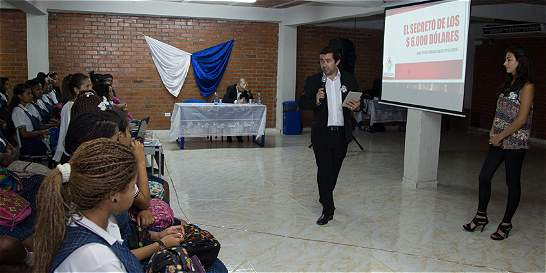 Campaña alerta a jovenes contra al trata de personas en el Valle