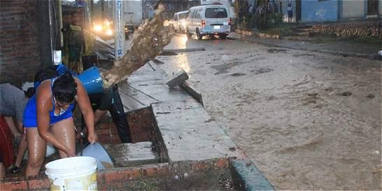 23 casas afectadas y dos colapsadas dejó vendaval en Yumbo