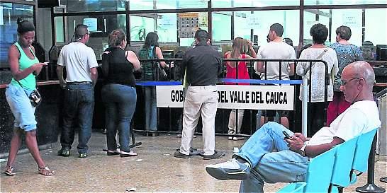 En el Valle aplicarán el 'Pico y placa' para el tramite del pasaporte