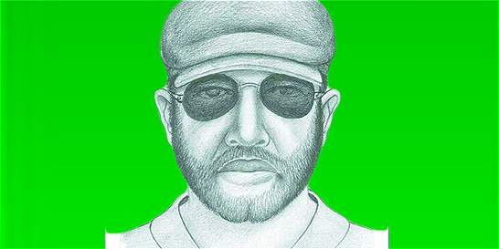 Publican el retrato hablado del implicado en el robo de un helicóptero