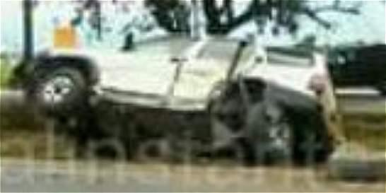 Obispo de Buga con contusiones por accidente de tránsito