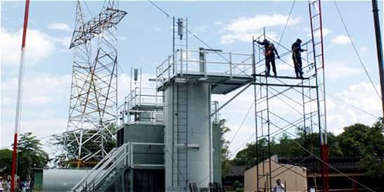 El Sena Buga trabaja en una pista pensada para trabajos en altura