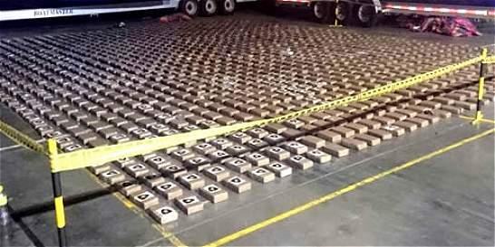 Incautación de 1.304 kilos de coca en altamar