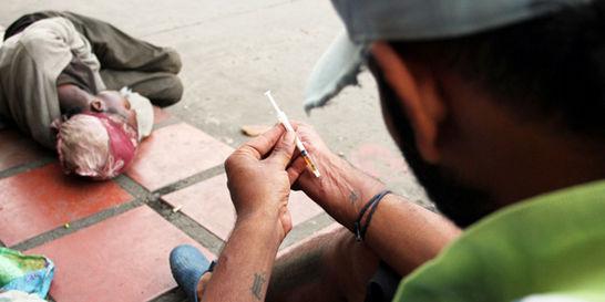 Alerta en Cali por alquiler de jeringas para adictos a la heroína