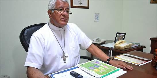 Por petición del Papa, Obispo de Buenaventura continúa con su labor