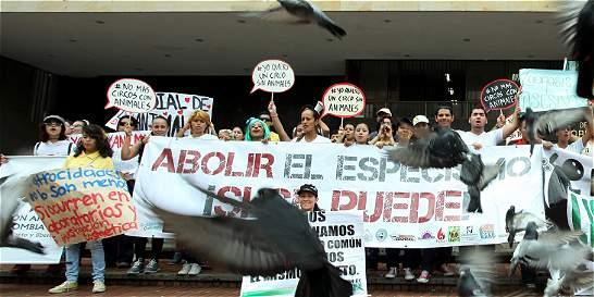 Con marcha, caleños dijeron 'no al maltrato a los animales'