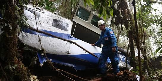Hallan cuerpos de brasileros de accidente aéreo en el Valle