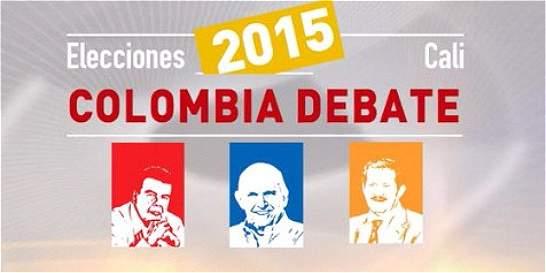 Desarme, la mayor coincidencia de los aspirantes en #ElDebateCali