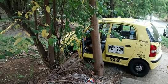 A bala mataron a un taxista en avenida del oeste de Cali