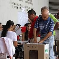 Vallecaucanos acudieron en calma a votar