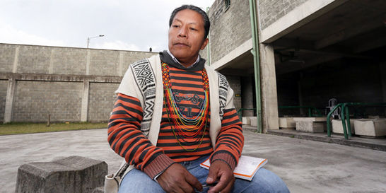 Indígenas piden el traslado de Feliciano Valencia
