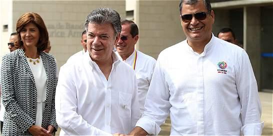 'Proceso de paz debe avanzar para un cese bilateral del fuego': Santos