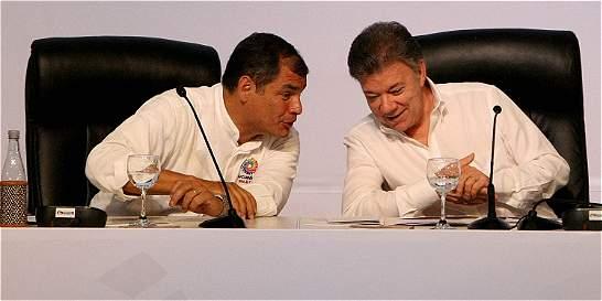 Ecuador ratifica apoyo a proceso con el Eln