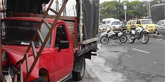 Dos muertos en accidentes de tránsito en Cali