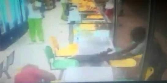 Homicidio en establecimiento público en Cali quedó grabado en video