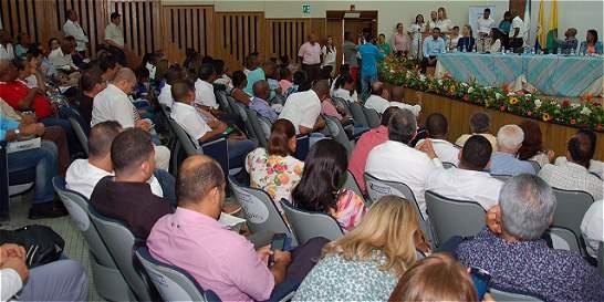 Acueducto, prioridad de Gobernación en el Puerto