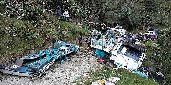 A seis asciende la cifra de muertos en accidente en el Cauca