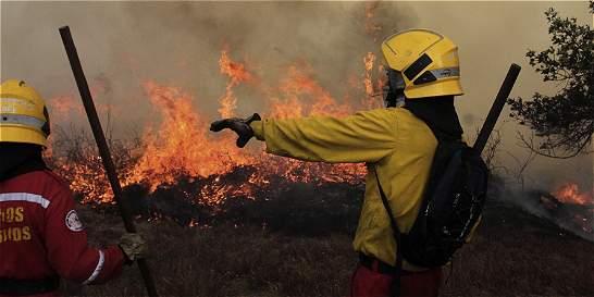 Incendio forestal pone en emergencia a Zarzal (Valle)