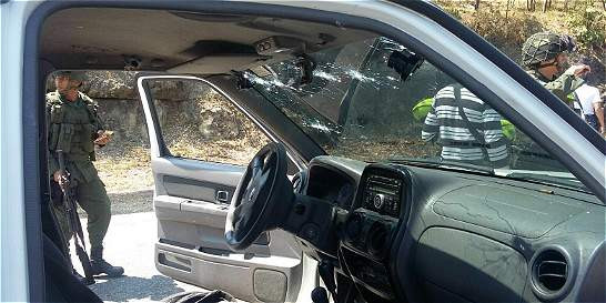 Policía resulta herido al repeler retén ilegal en la vía Panamericana
