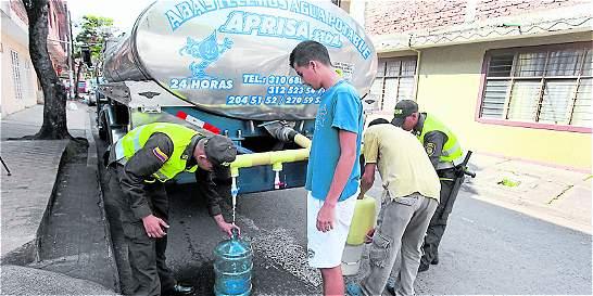 Aumentan dos horas el corte de agua en tres comunas de Cali