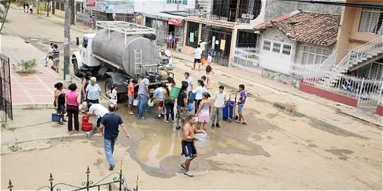 En Zarzal, norte del Valle, sin agua 16 horas diarias